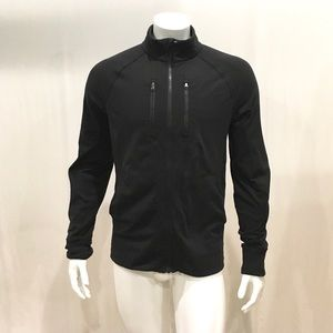 Lululemon Men's Black Full Zip Sweatshirt